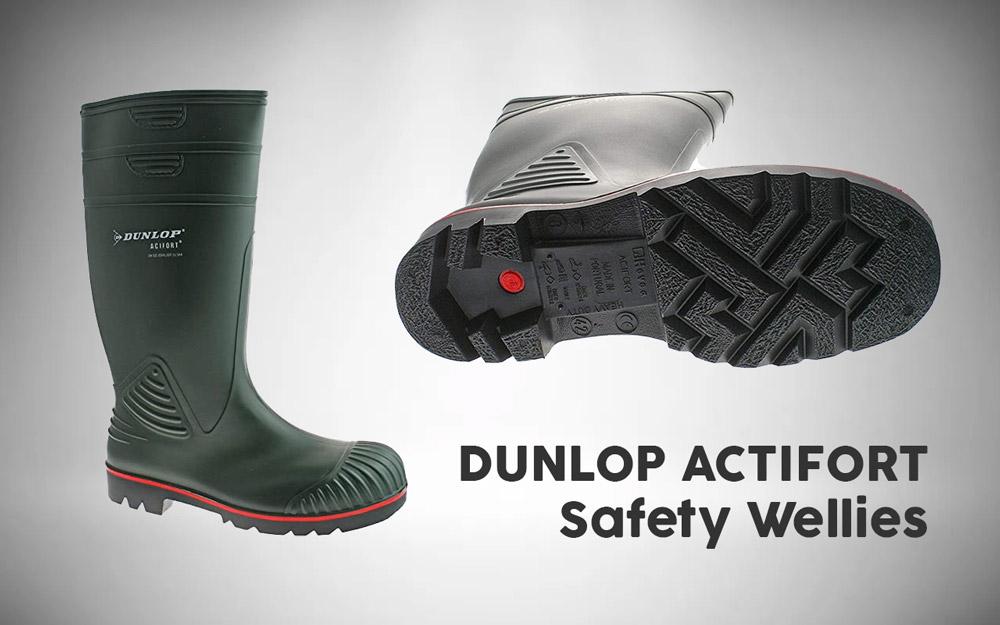 DUNLOP ACTIFORT Safety Wellies