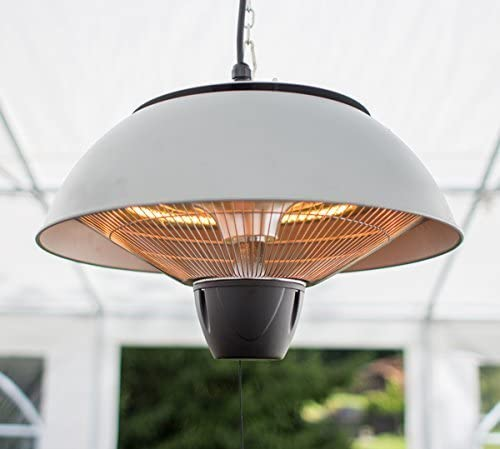 Firefly Ceiling Hanging Halogen Bulb Electric Infrared Patio Heater