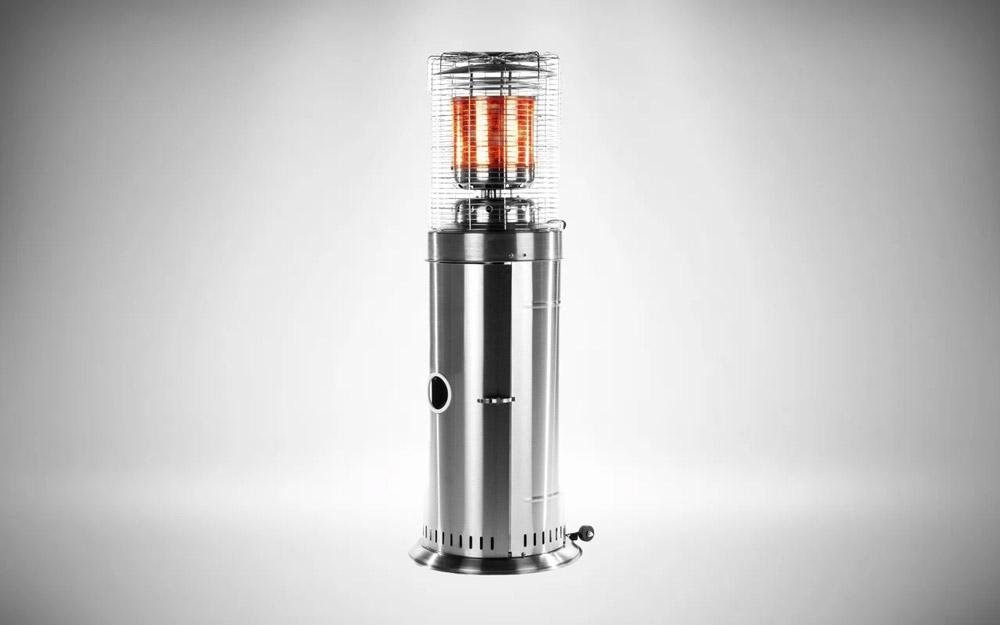 Glow Warm Bullet Patio Heater 11kw - Table Floor