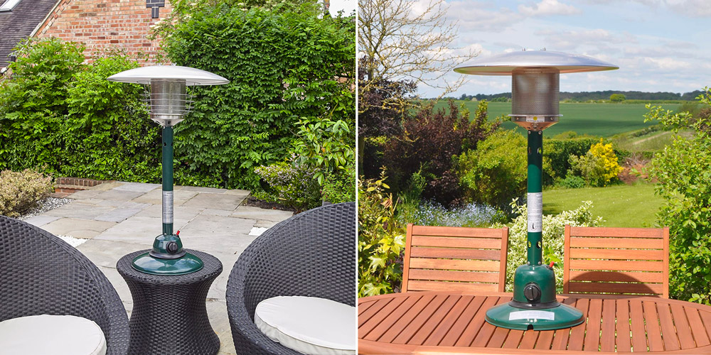 Kingfisher PH300 Garden Outdoor Table Top Patio Heater