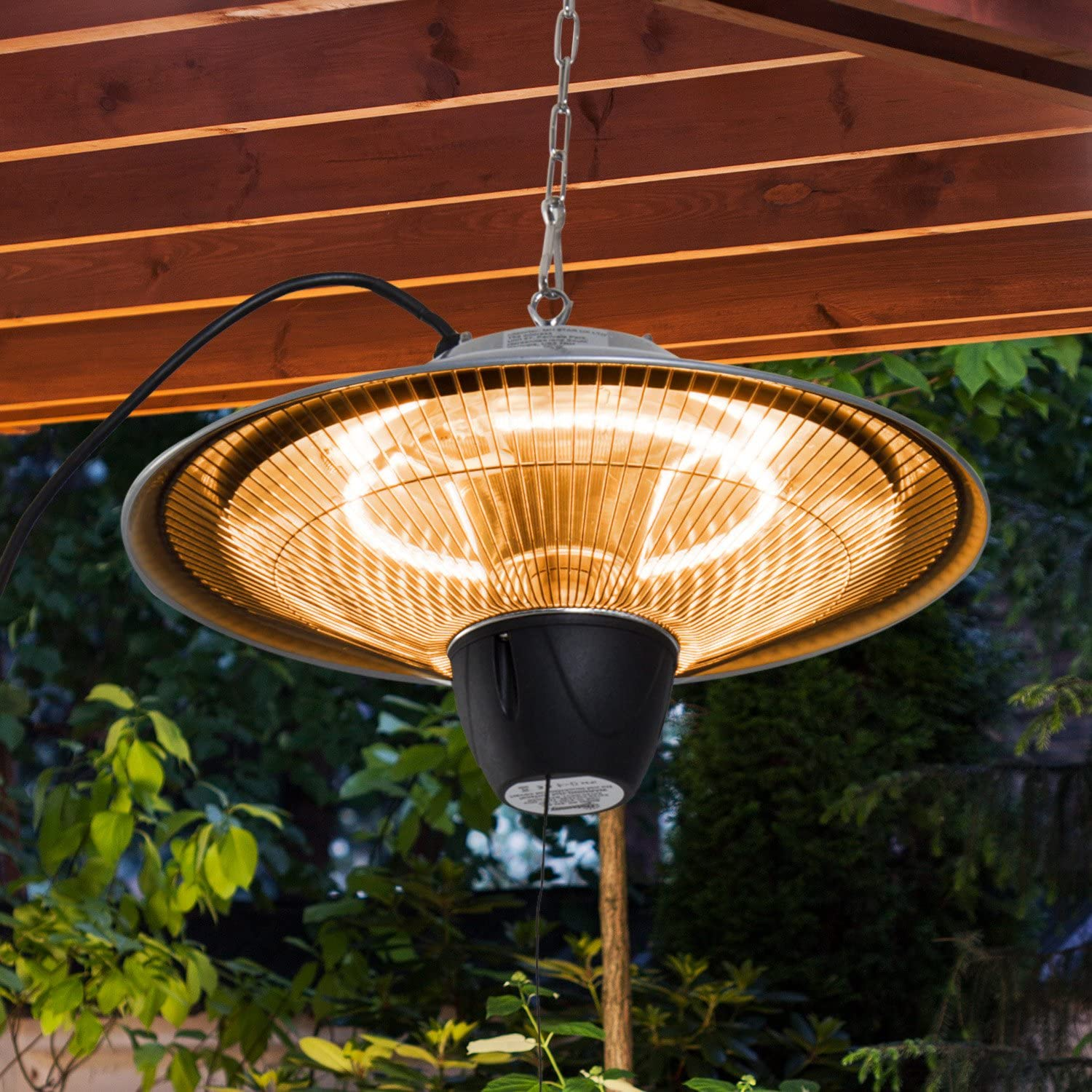 Outsunny 1500W Patio Heater Outdoor Ceiling Mounted