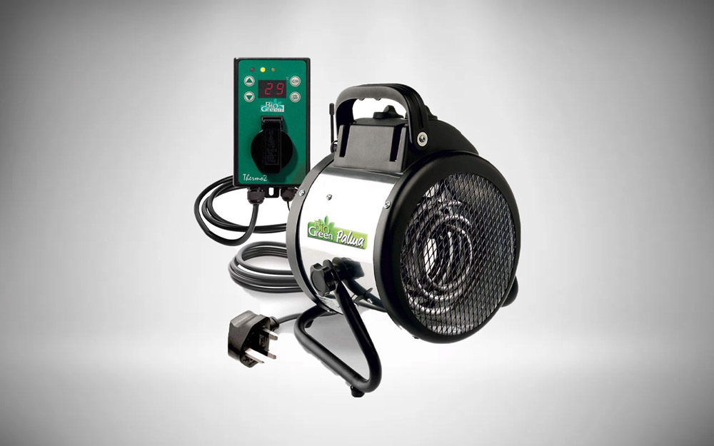 Bio Green PAL 2KW Palma Heater with Digital Thermostat